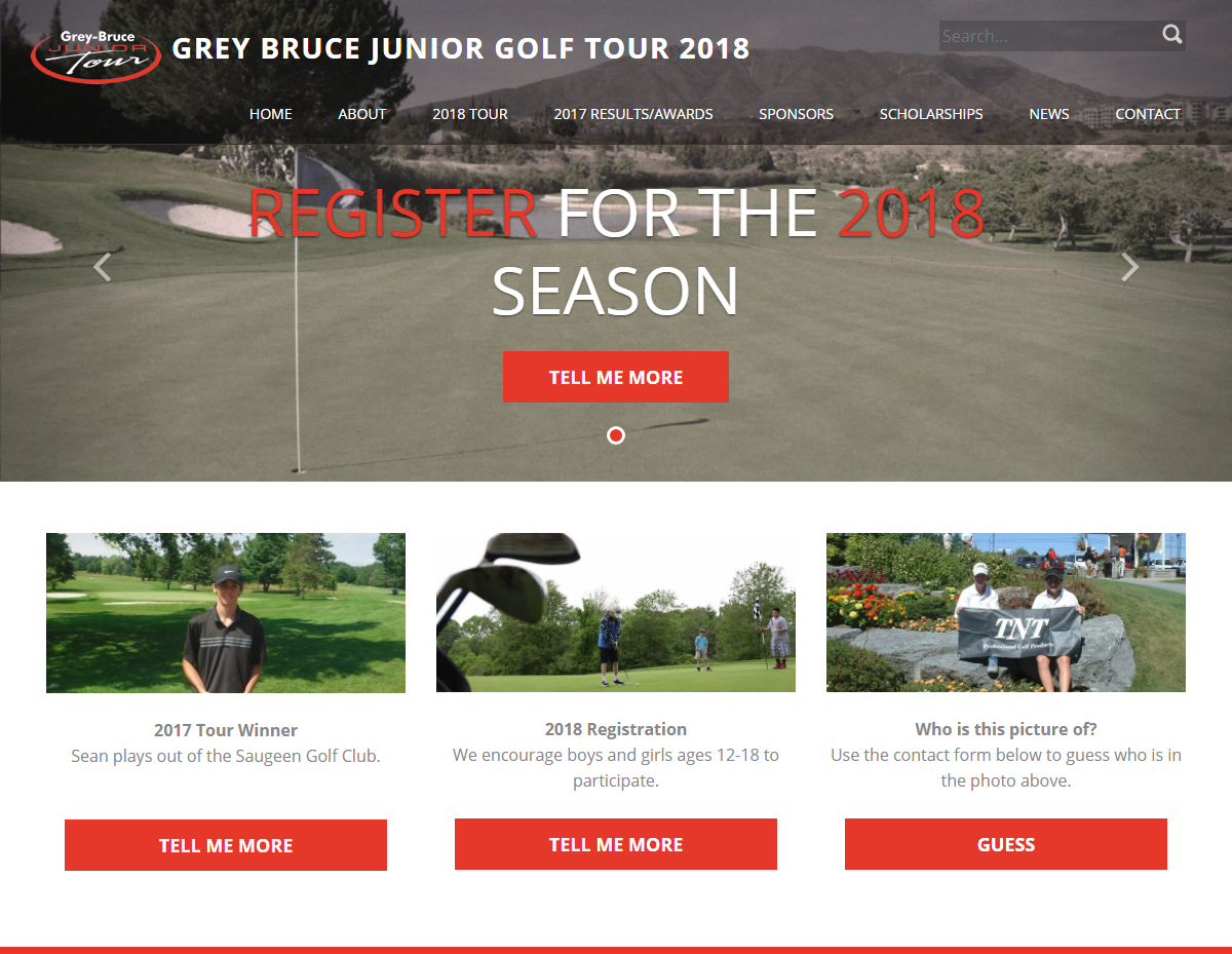Grey Bruce Junior Golf Tour