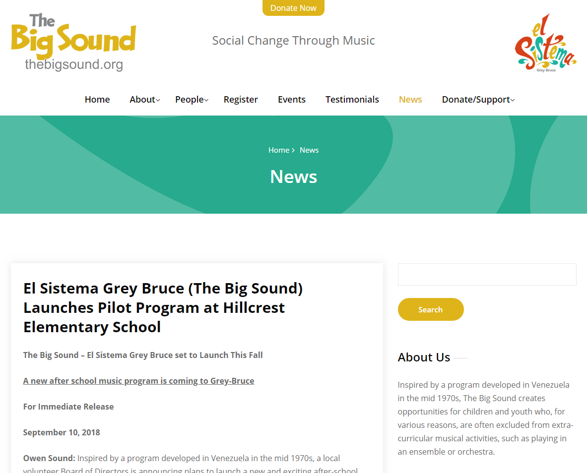 The Big Sound - El Sistema