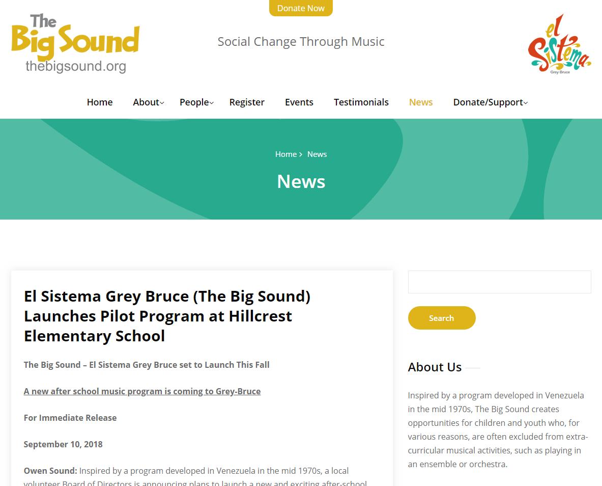 The Big Sound - El Sistema