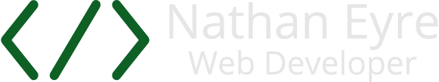 Nathan Eyre, Web Developer