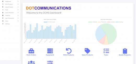 DOT Communications Management System